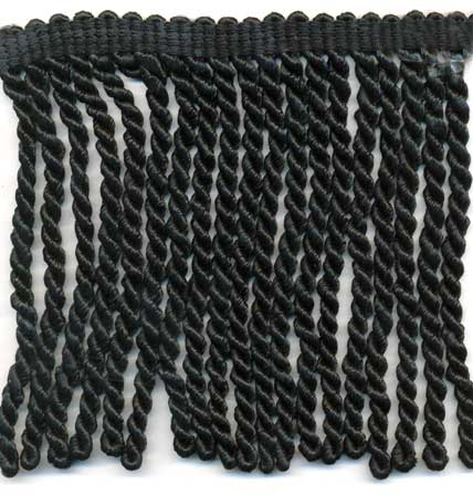 Bullion Fringe-Black